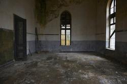 old abandoned house room istanbul turkey