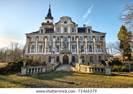 Abandoned Mansions in PA http://www.shutterstock.com/pic-71466379/stock-photo-old-abandoned-mansion-during-the-evening.html