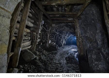 Old abandoned mine