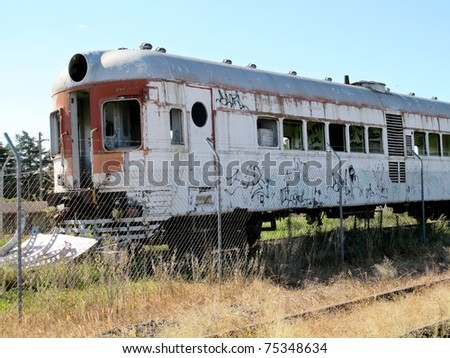 Old abandoned rail cars 7
