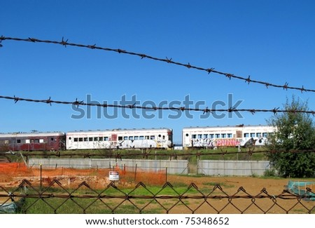 Old abandoned rail cars 4