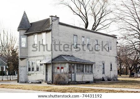 old american house
