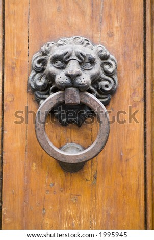 Old ancient door detail 28. See more in my portfolio