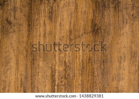 Old ancient wall texture. Brown background. Rustic