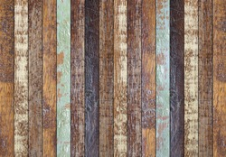old and aged wood plank background texture for decorate design concept.