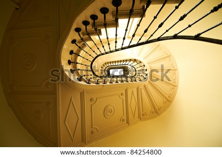 Old And Classic Stairs Stock Photo 84254800 : Shutterstock