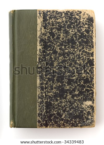 old and used books - stock photo
