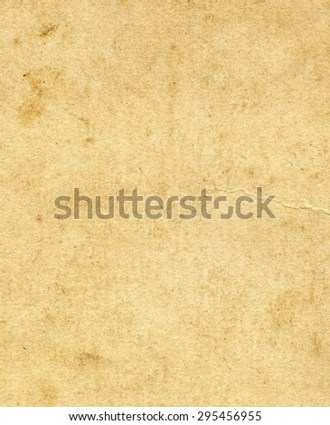 Old and Vintage Paper Page Texture - Shutterstock ID 295456955
