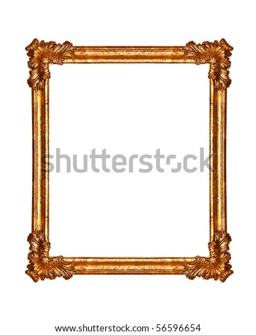 old antique frame