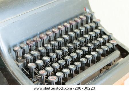 Old Antique Typewriter / Typewriter