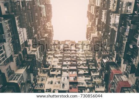 old apartment in hongkong  ...