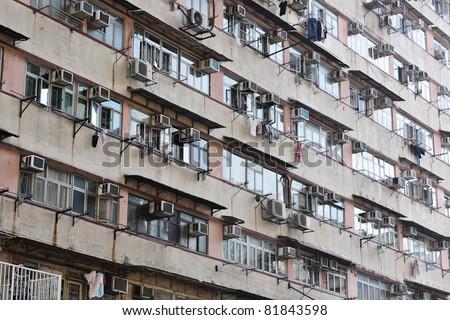 old apartments Stockfoto ©