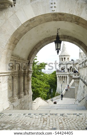 Old architecture of Budapest, Hungary