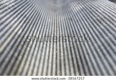 Old asbestos tile background, shallow depth of field