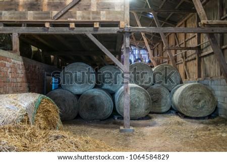 Old Austrian Village House #1064584829