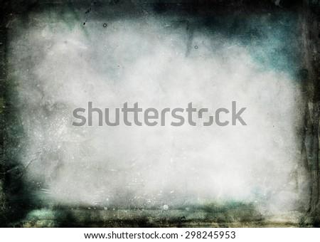 old background with grunge frame #298245953