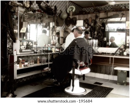 Old Barber shop