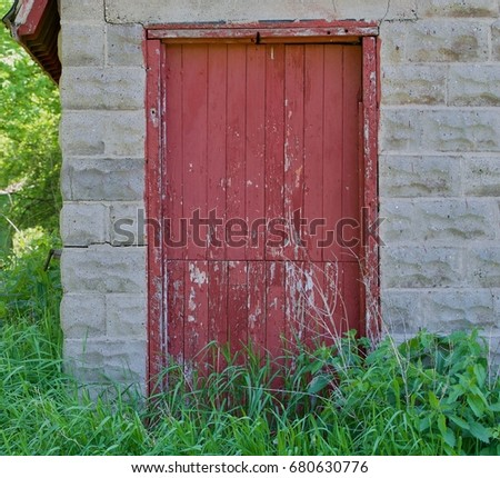 Old Barn Door #680630776