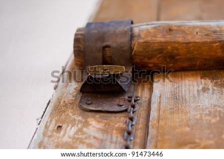 Old barn padlock