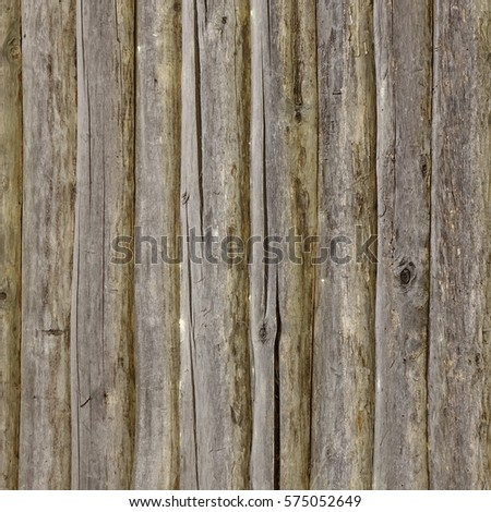 Old Barn Solid Wood Square Background Brown Grey Wooden Frame Texture Rustic Timber Isolated