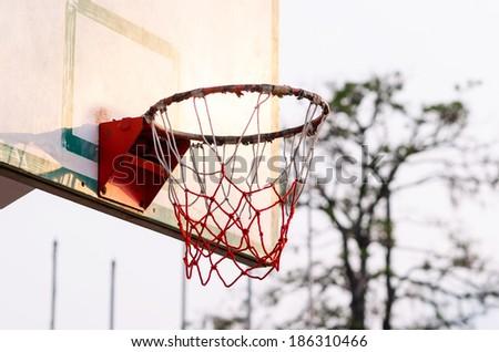 Old Basketball hoop , Basketball hoop outdoor , Hoop Basketball , Basketball hoops lacks