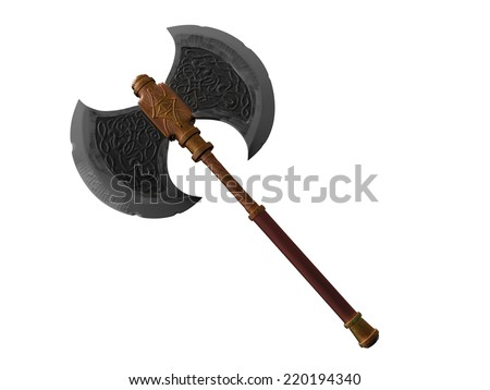 Old battle axe