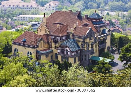Old beautiful villa