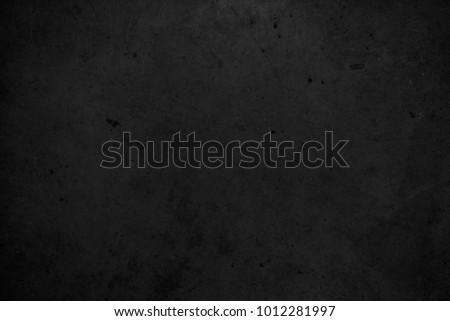 Old black background. Chalkboard texture