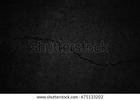 Old black  background. Grunge texture. Dark wallpaper. Blackboard. Chalkboard - Shutterstock ID 671133202