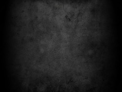 Old black background. Grunge texture. Dark wallpaper. Blackboard. Chalkboard. Concrete
