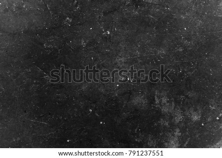 Old black background. Grunge wallpaper. Chalkboard. Grung #791237551