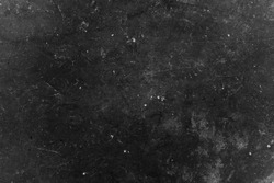 Old black background. Grunge wallpaper. Chalkboard. Grung. Cement