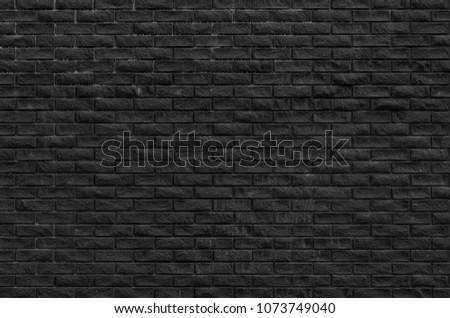 Old black brickwall background