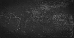Old black gray background. Grunge texture. Dark wallpaper. Blackboard. Chalkboard.