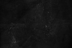 Old black grunge background. Distressed texture. Chalkboard wallpaper. Blackboard