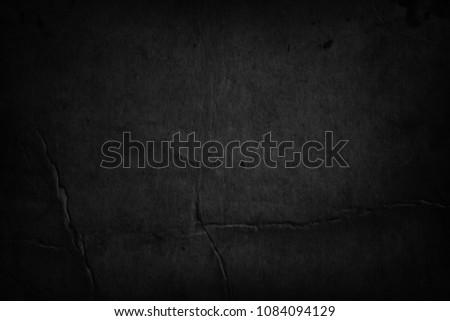 Old black paper background