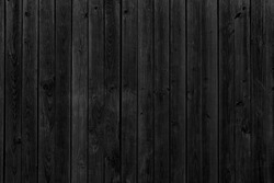 Old black wood. Grunge texture background
