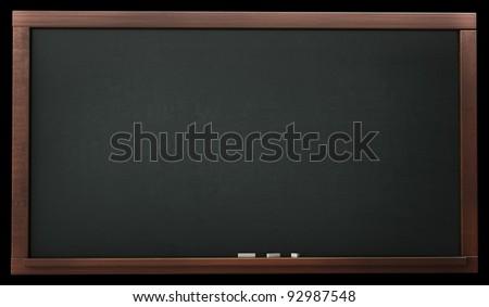 old blank blackboard  High resolution. 3D image