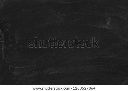Old blank dirty blackboard .Empty Chalkboard Background with writing space #1283527864