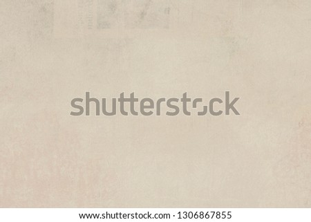 OLD BLANK NEWSPAPER BACKGROUND, BLANK PAPER TEXTURE, SPACE FOR TEXT #1306867855