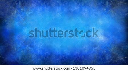 Old blue background