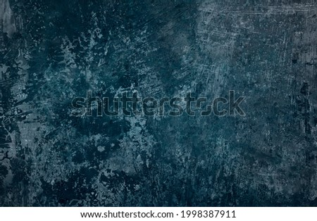 Old blue corroded metal grunge background or texture Photo stock ©