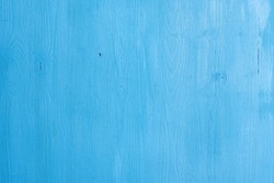 Old blue painted wood texture background close up