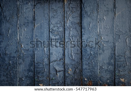 Old blue wood.Grunge texture. Abstract wallpaper.  #547717963