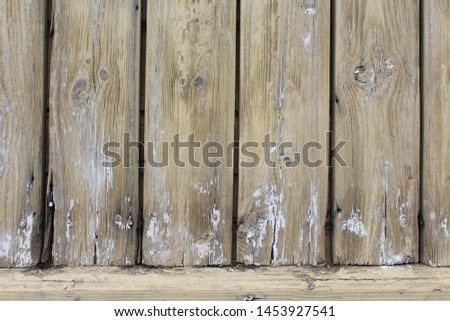 Old boards, old wall, old house.