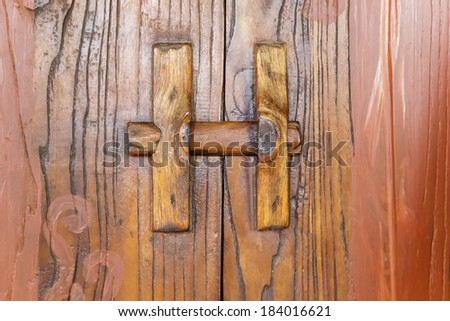 old bolt in chinese ancient wood furniture