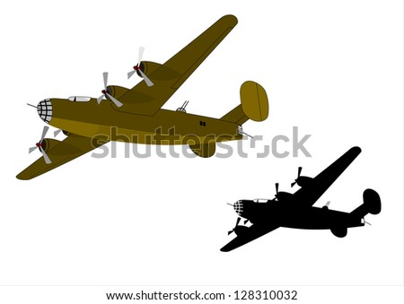 Old bomber of the Second War in two versions.