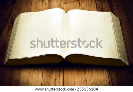 Old Book template. You can put any design you need on its page