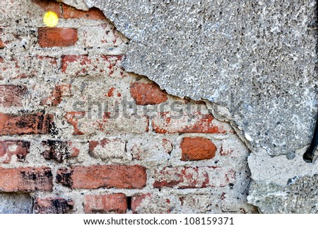 Old brick bricks texture