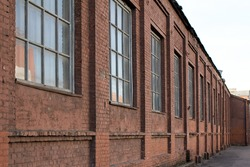 Old brick building. Old factory